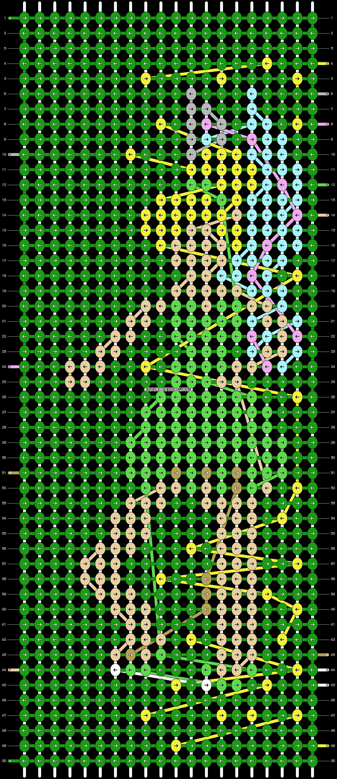 Alpha pattern #85032 pattern