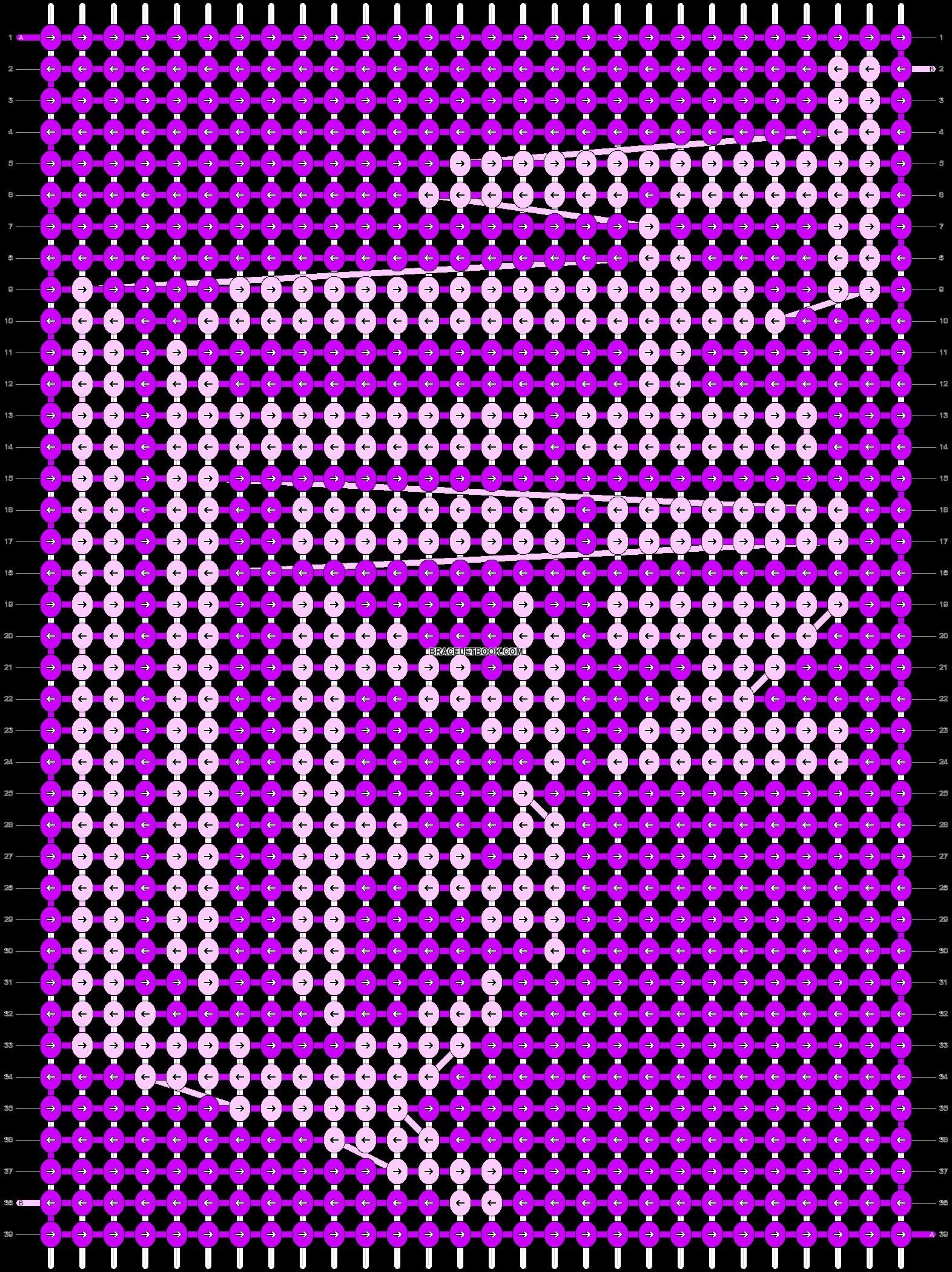 Alpha pattern #85033 pattern