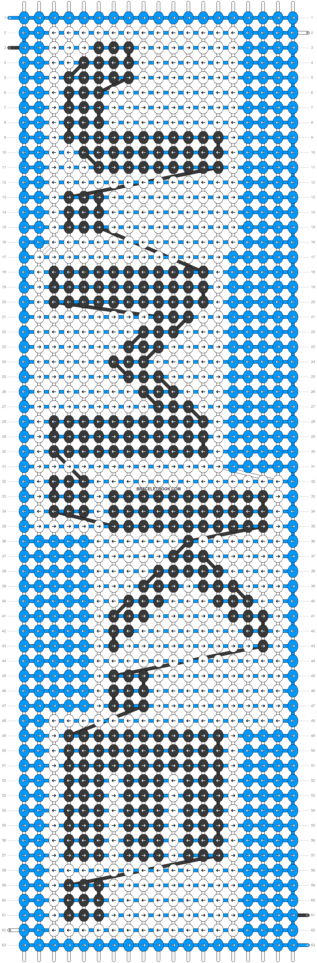 Alpha pattern #85039 pattern