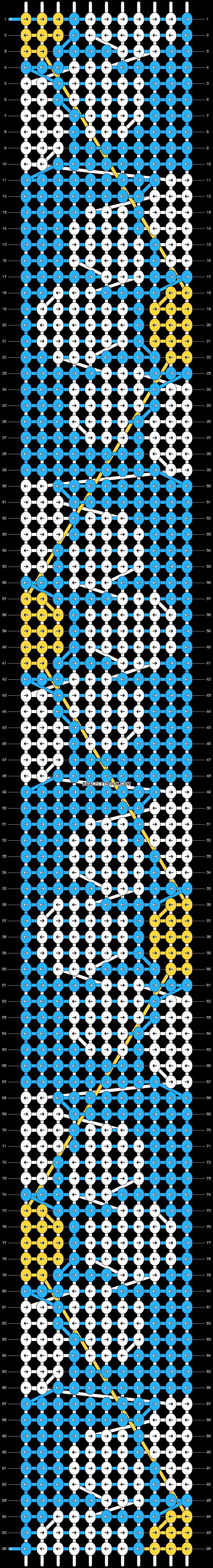 Alpha pattern #85048 pattern