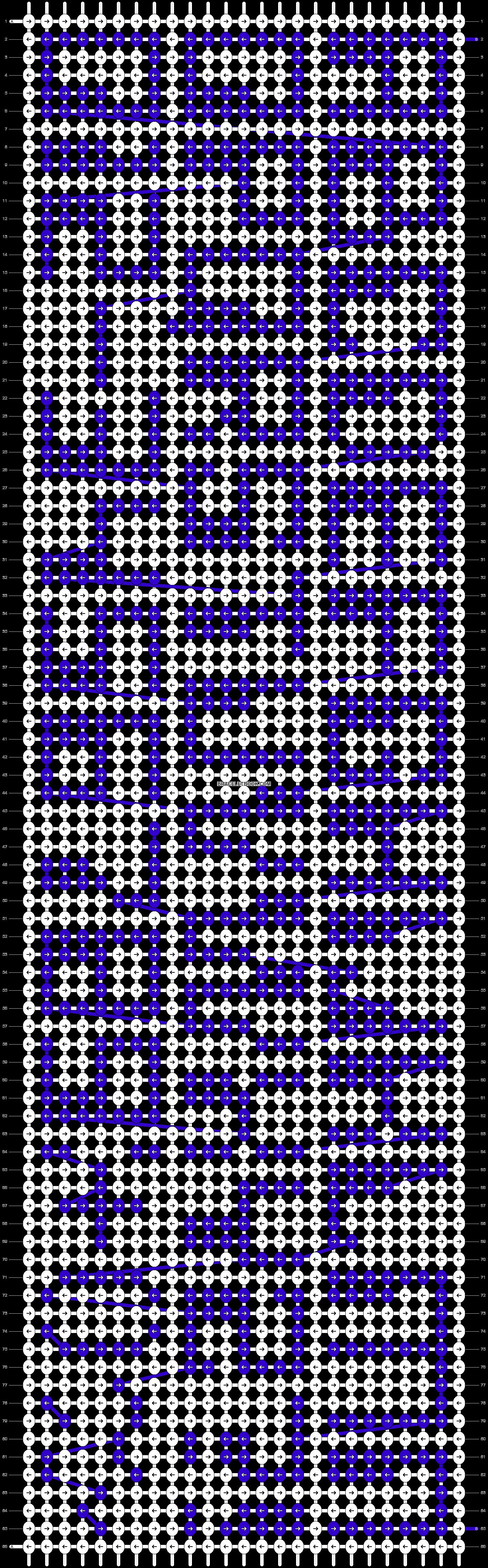 Alpha pattern #85052 pattern