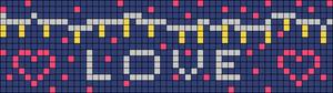 Alpha pattern #85058