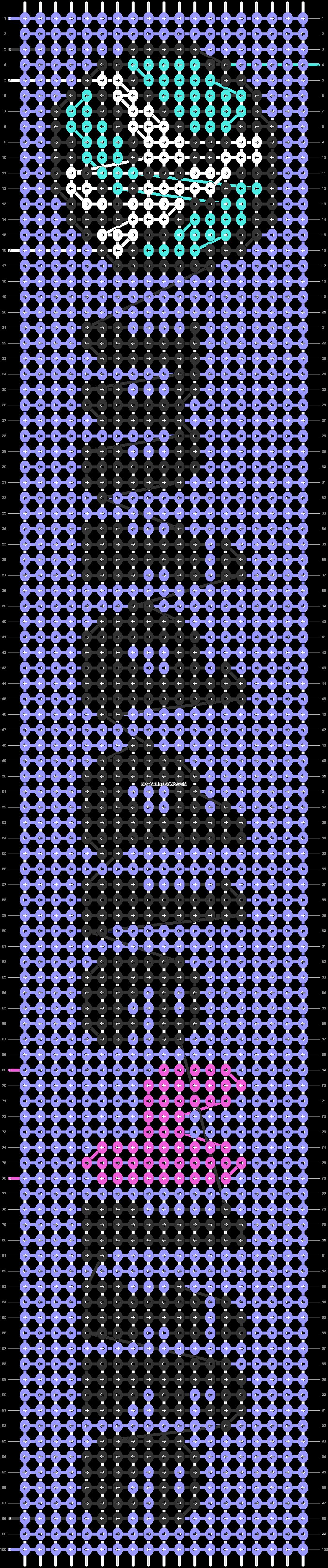 Alpha pattern #85062 pattern