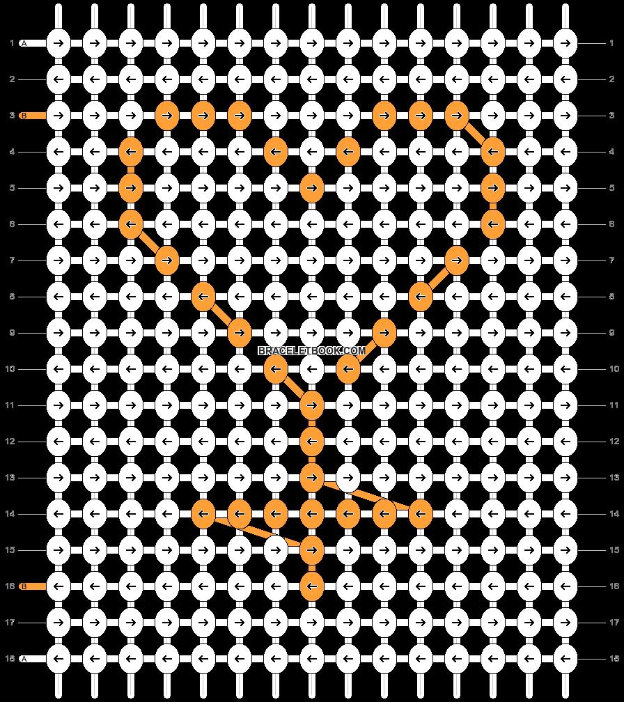 Alpha pattern #85111 pattern