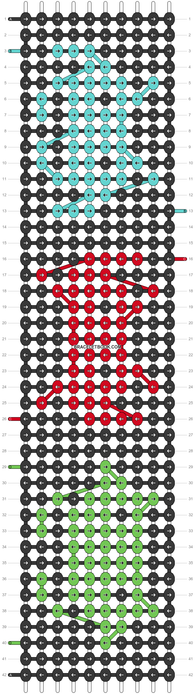 Alpha pattern #85123 pattern