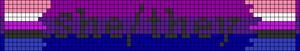 Alpha pattern #85127