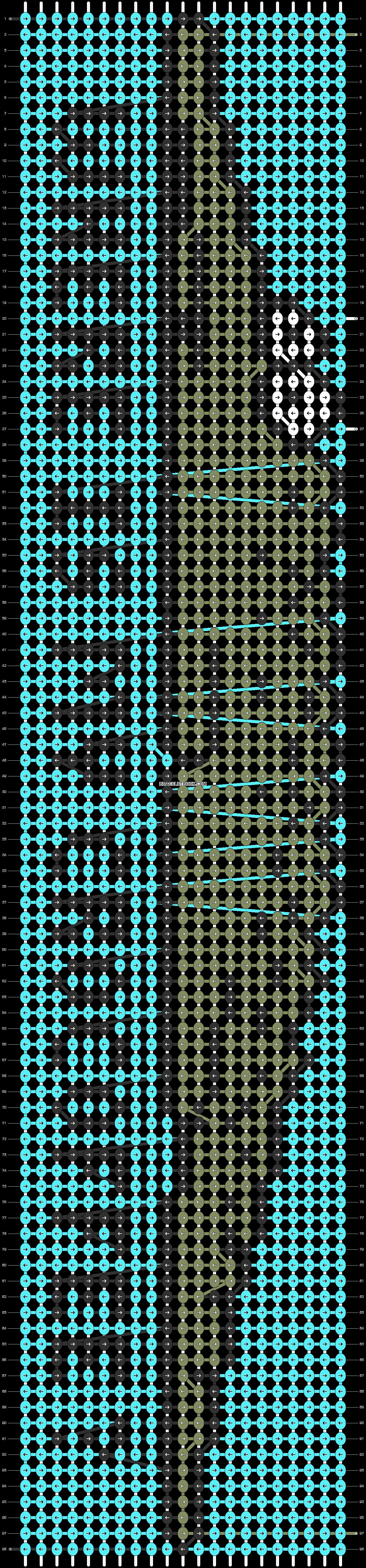 Alpha pattern #85147 pattern