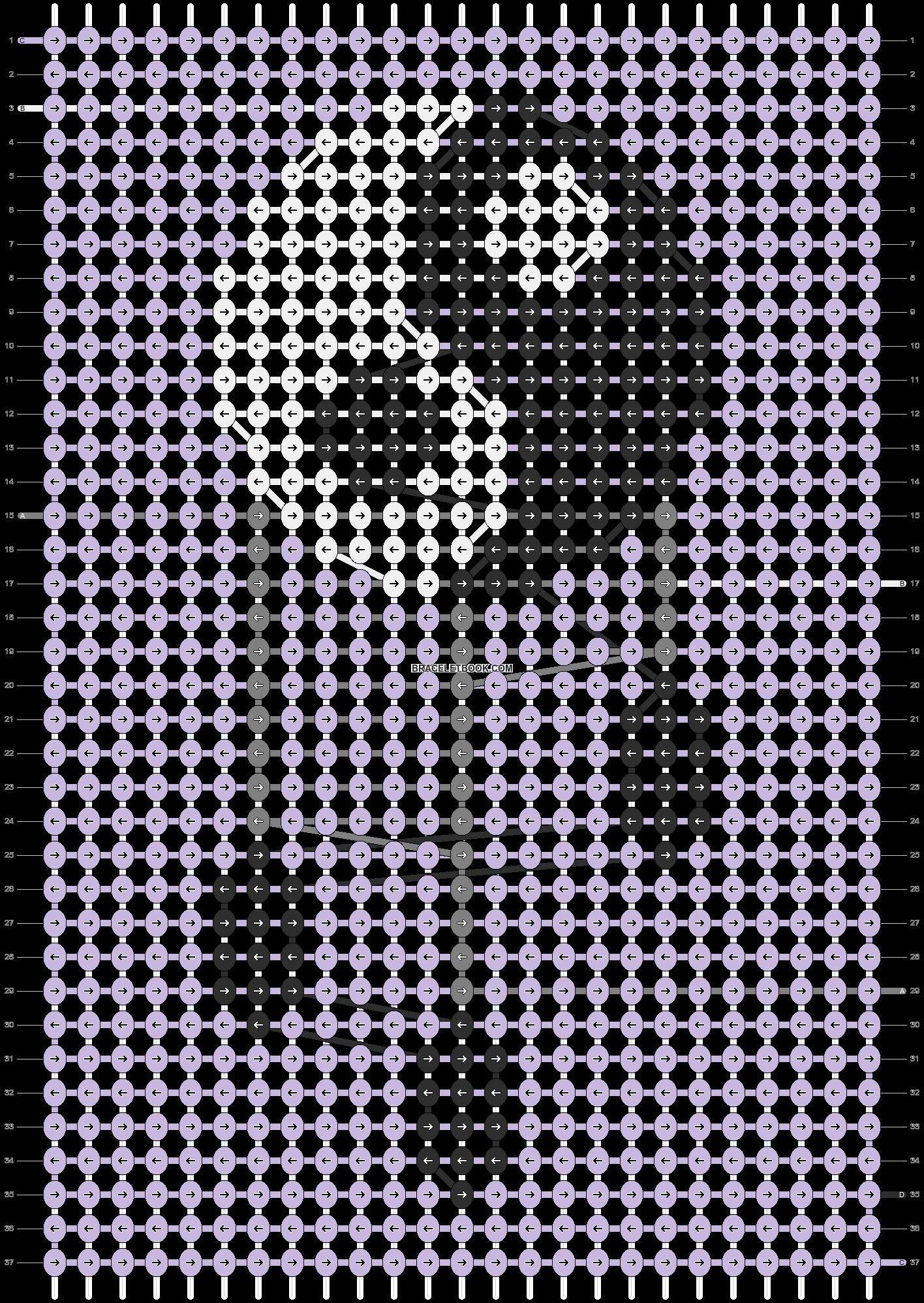 Alpha pattern #85158 pattern