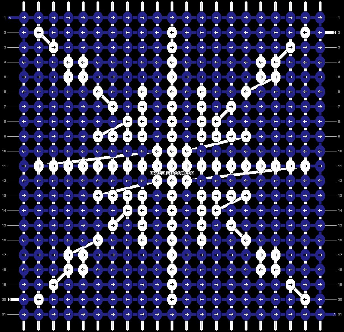 Alpha pattern #85177 pattern