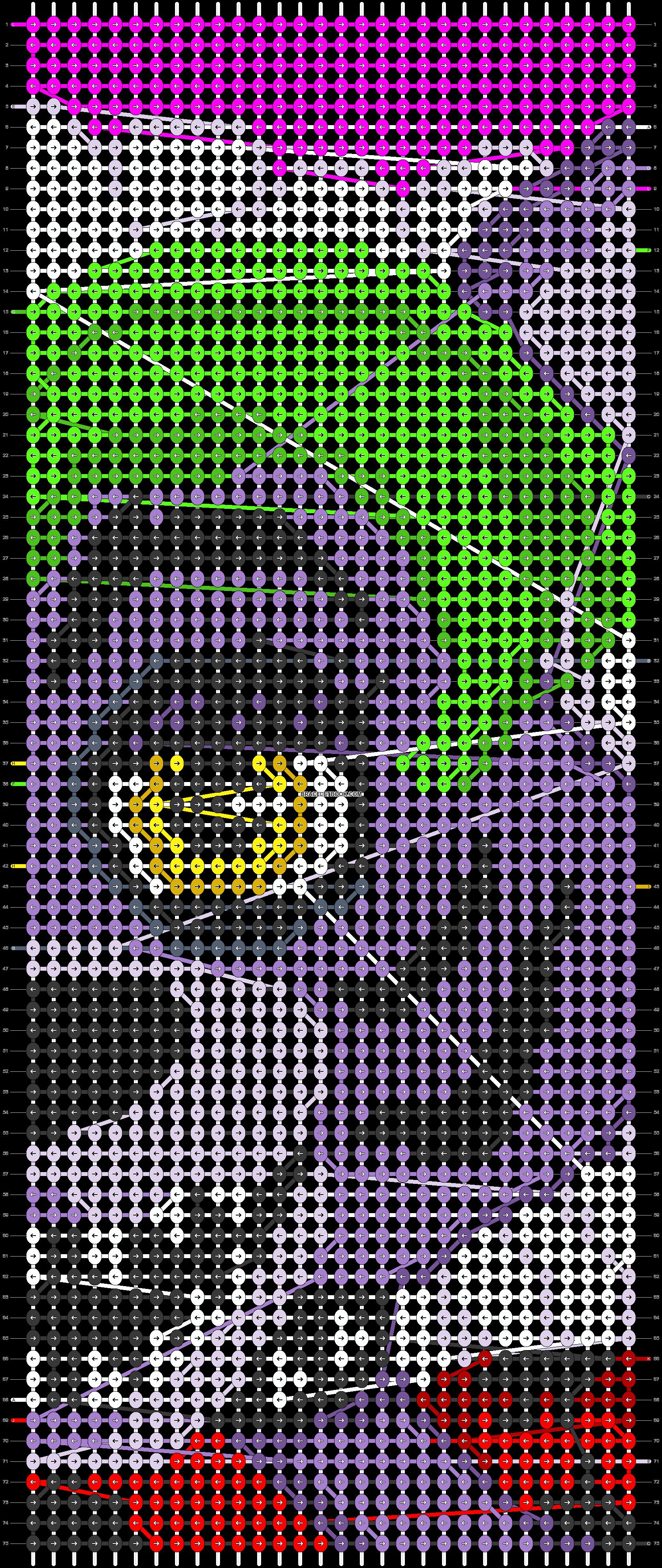 Alpha pattern #85197 pattern