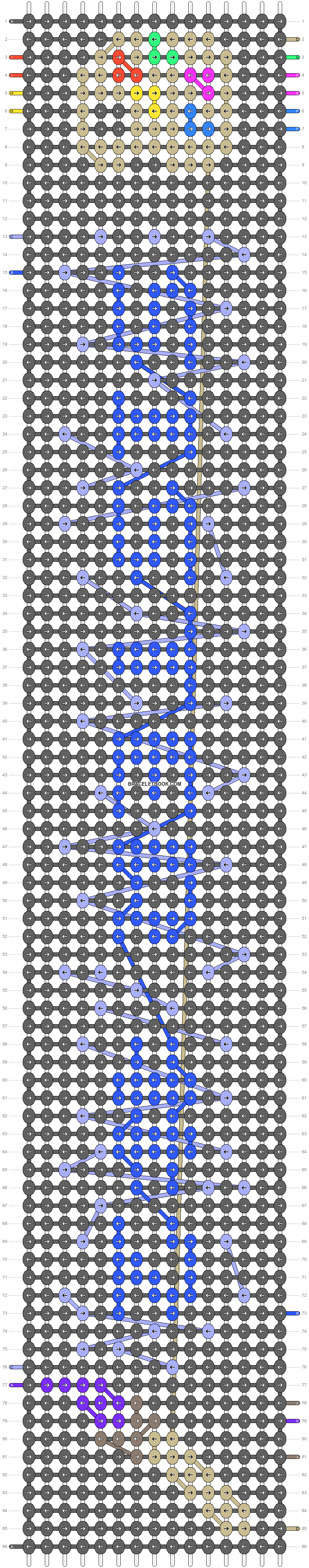 Alpha pattern #85199 pattern