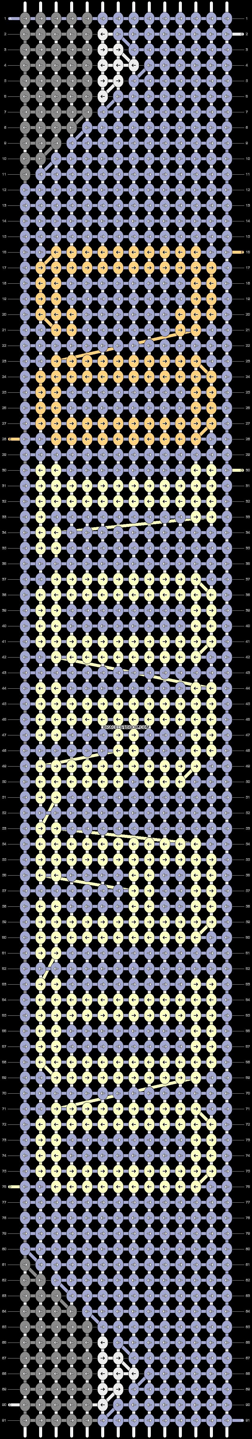 Alpha pattern #85201 pattern