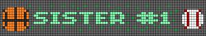 Alpha pattern #85206