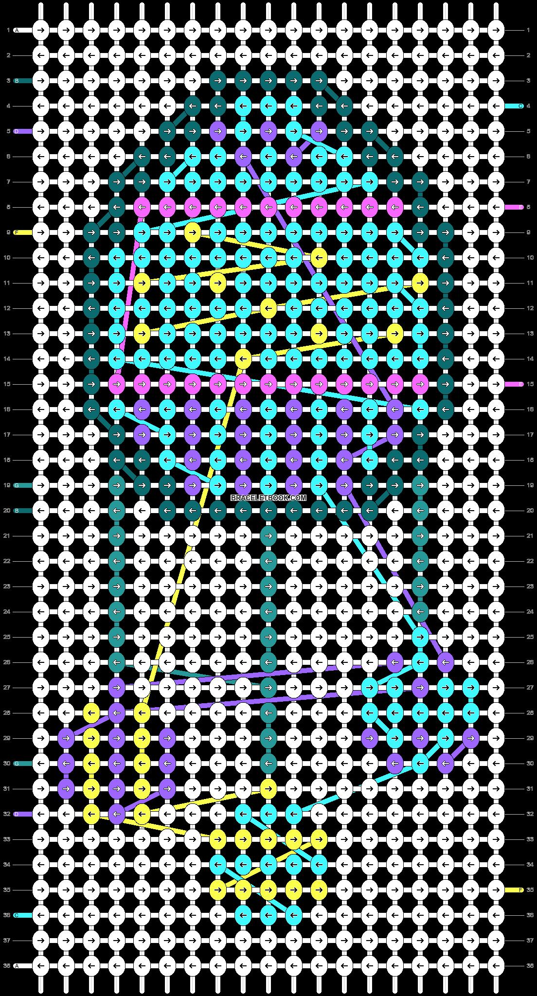 Alpha pattern #85214 pattern
