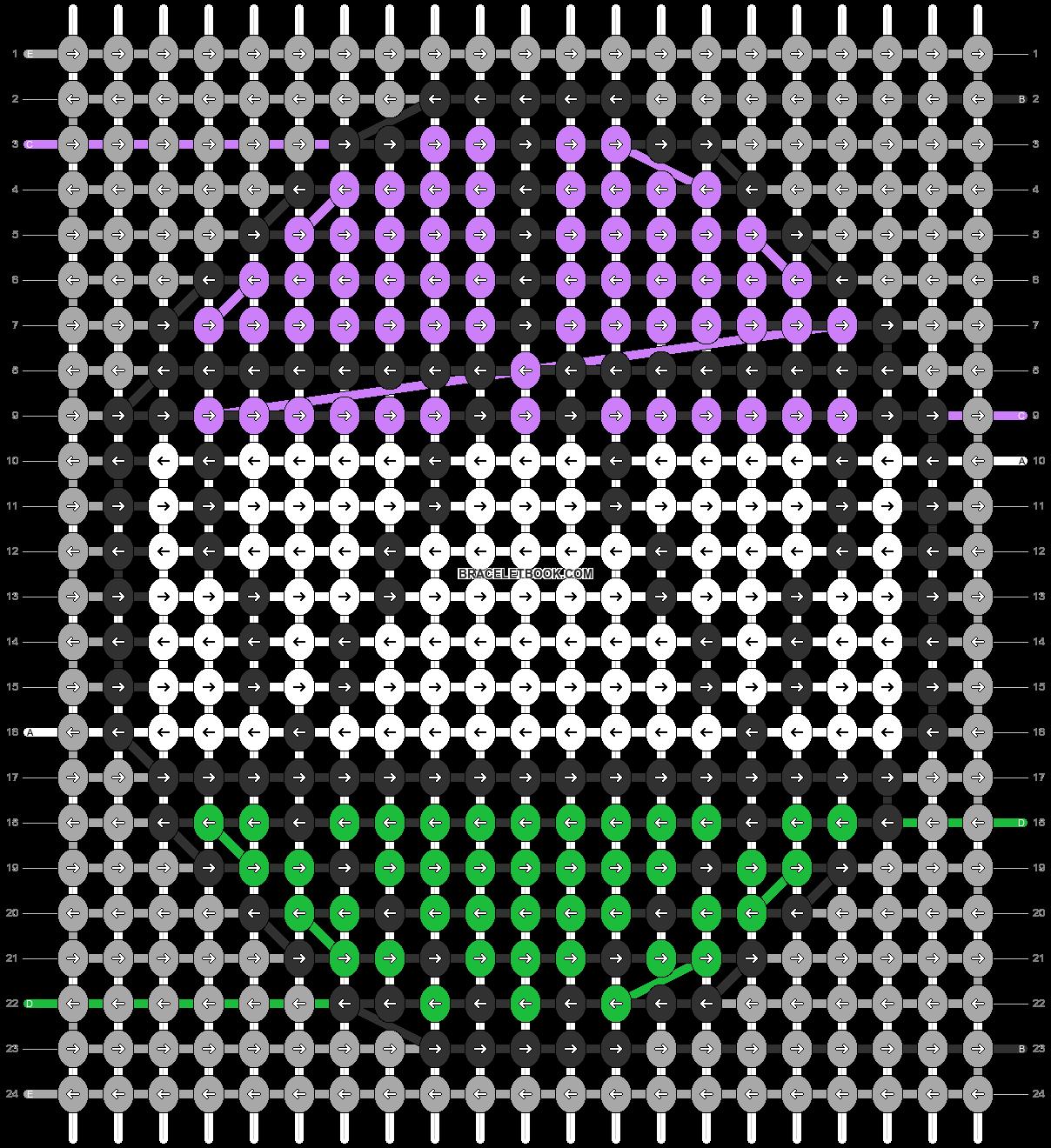 Alpha pattern #85232 pattern