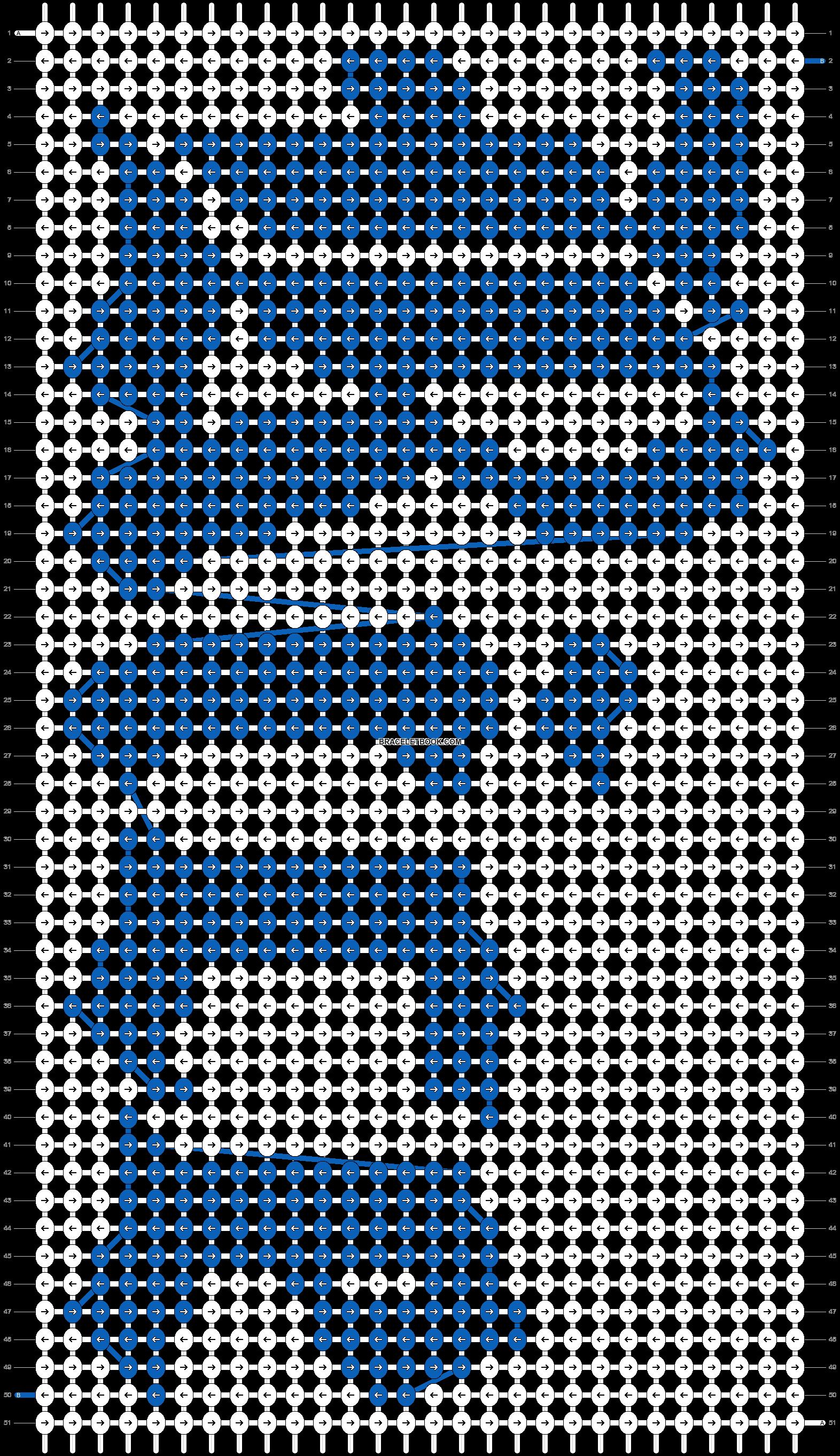 Alpha pattern #85250 pattern