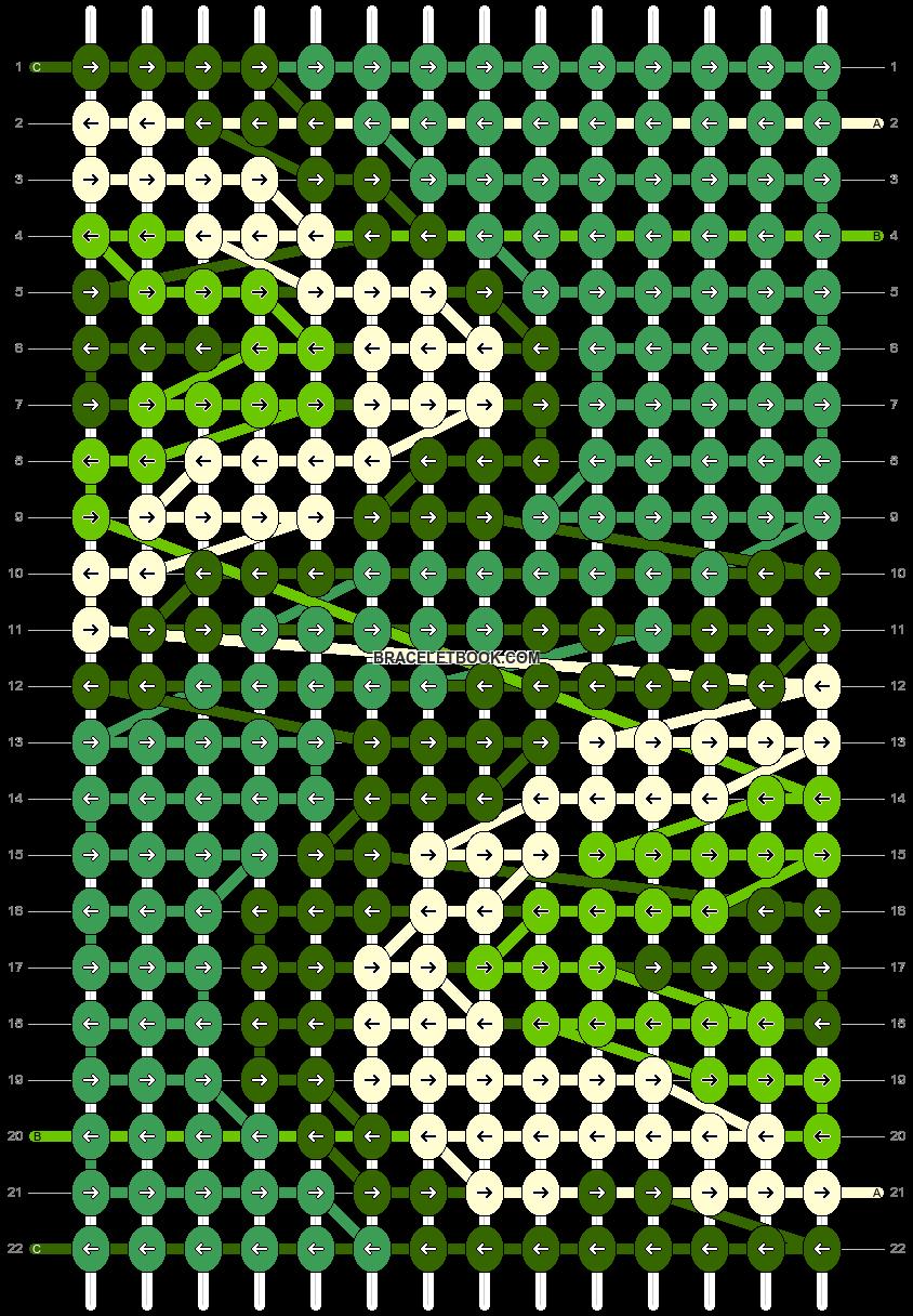 Alpha pattern #85285 pattern