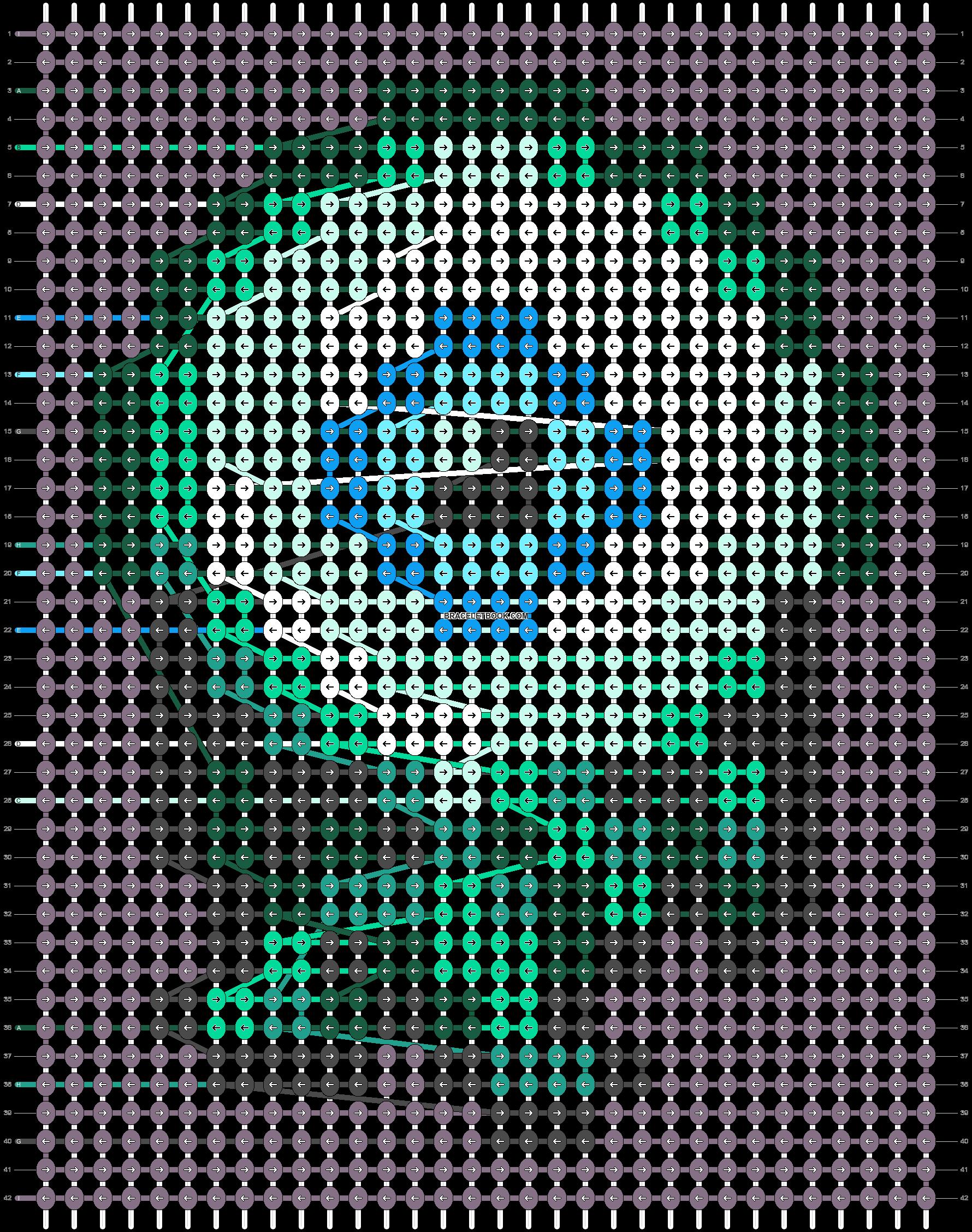 Alpha pattern #85288 pattern