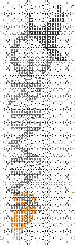 Alpha pattern #85322 pattern