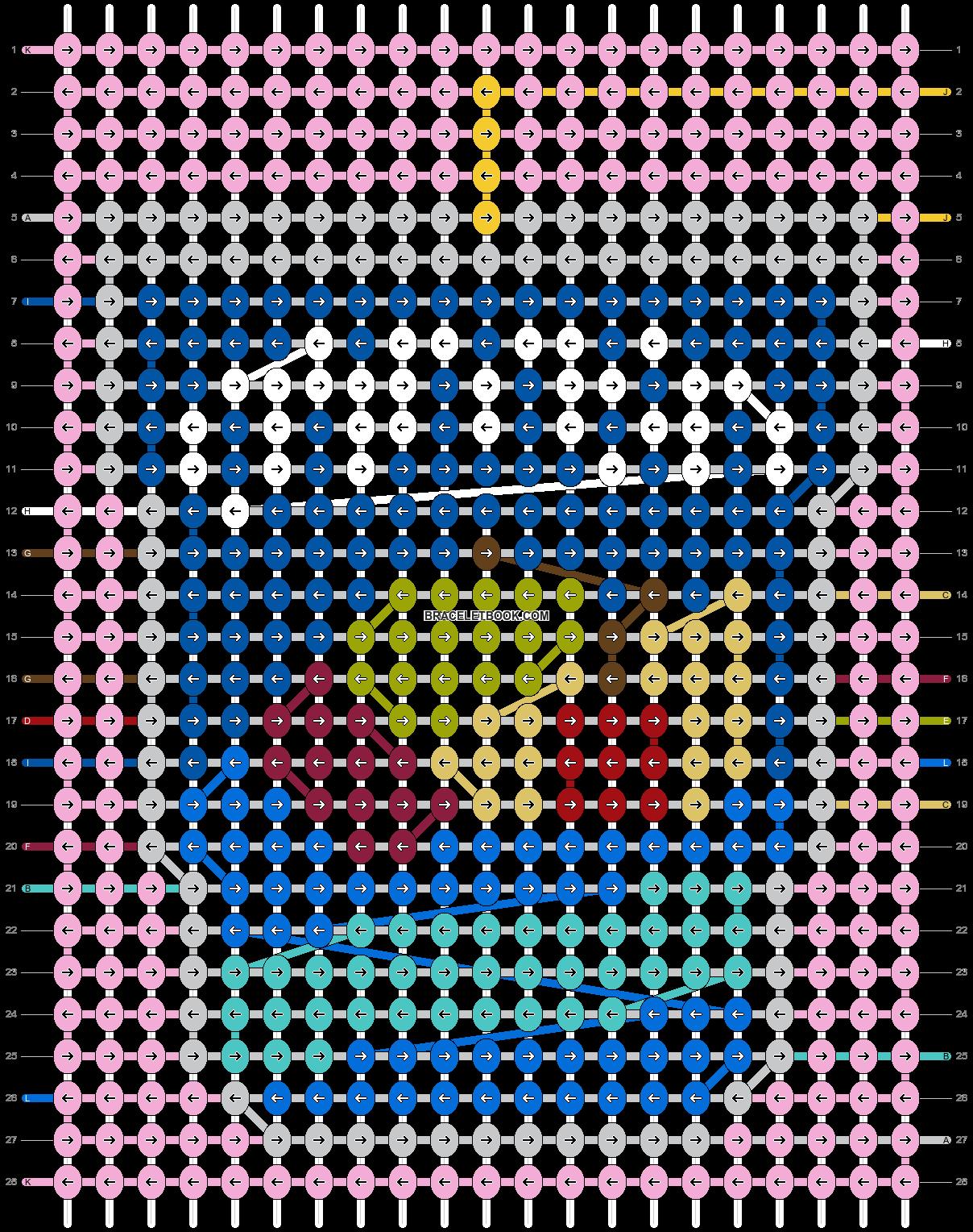 Alpha pattern #85342 pattern