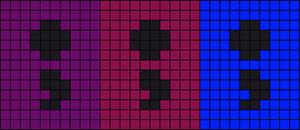 Alpha pattern #85356