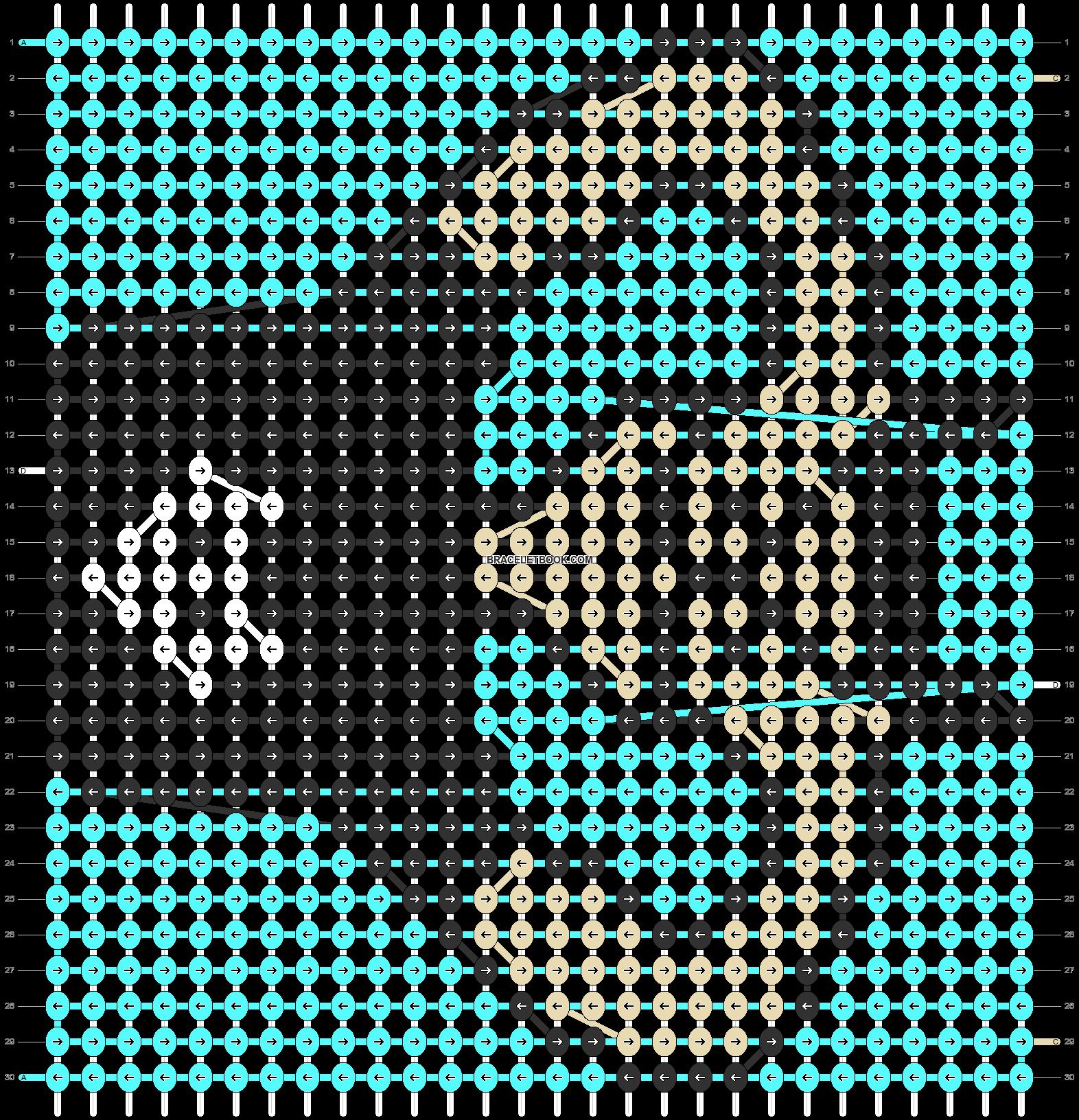 Alpha pattern #85361 pattern