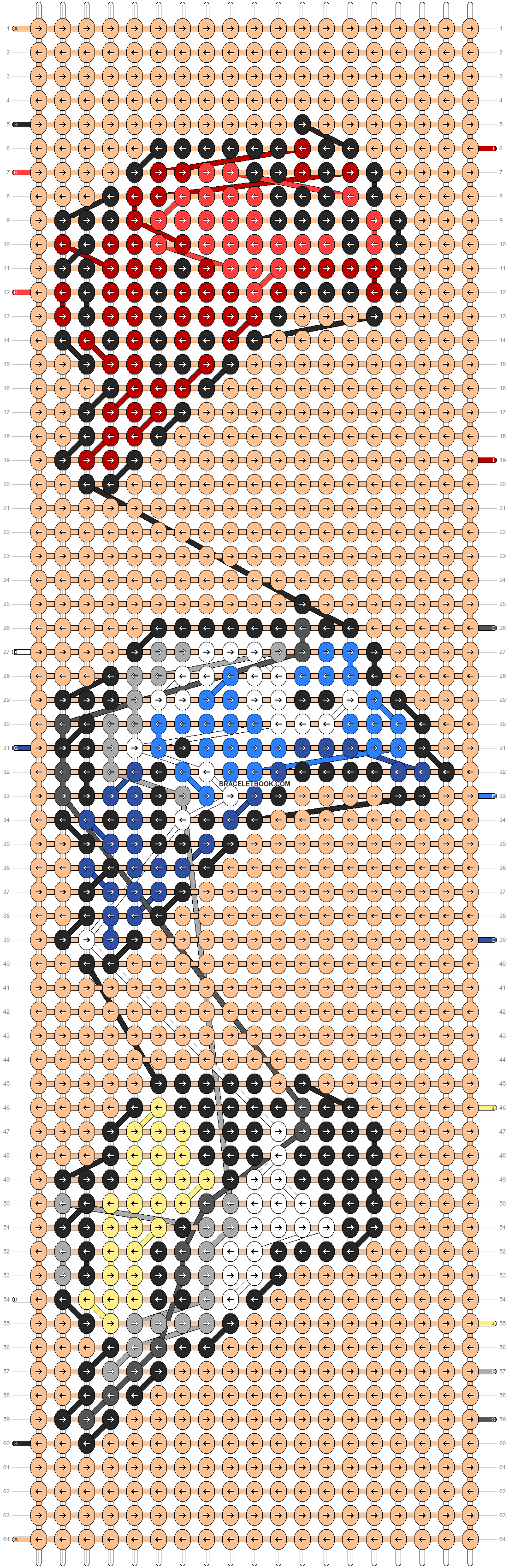 Alpha pattern #85367 pattern