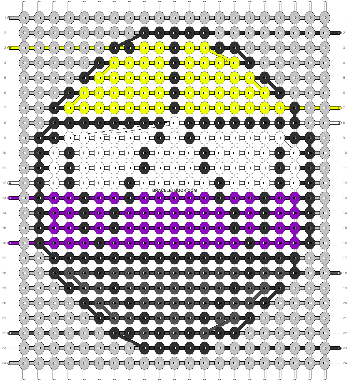 Alpha pattern #85372 pattern