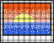 Alpha pattern #85373