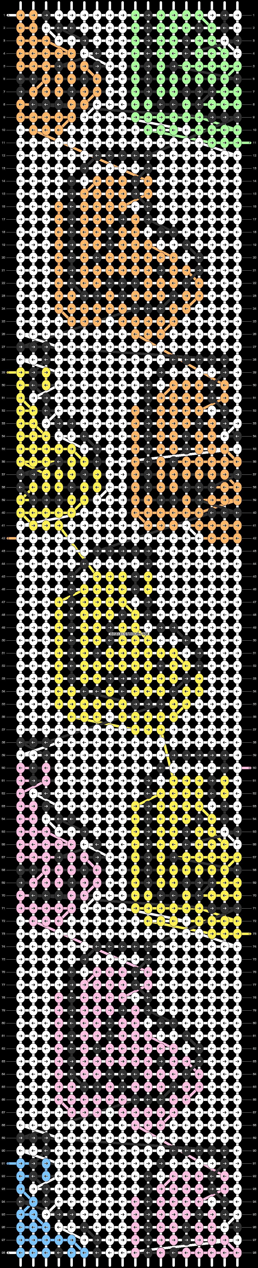 Alpha pattern #85386 pattern