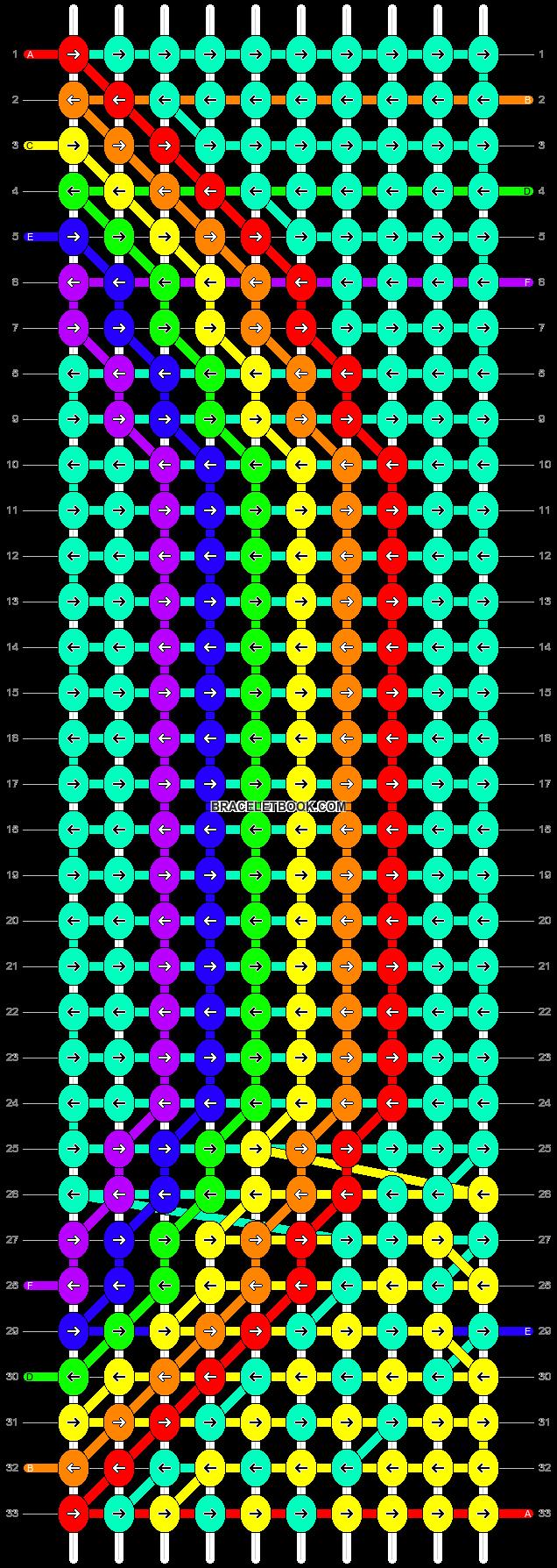 Alpha pattern #85400 pattern