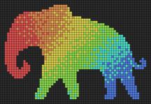 Alpha pattern #85408