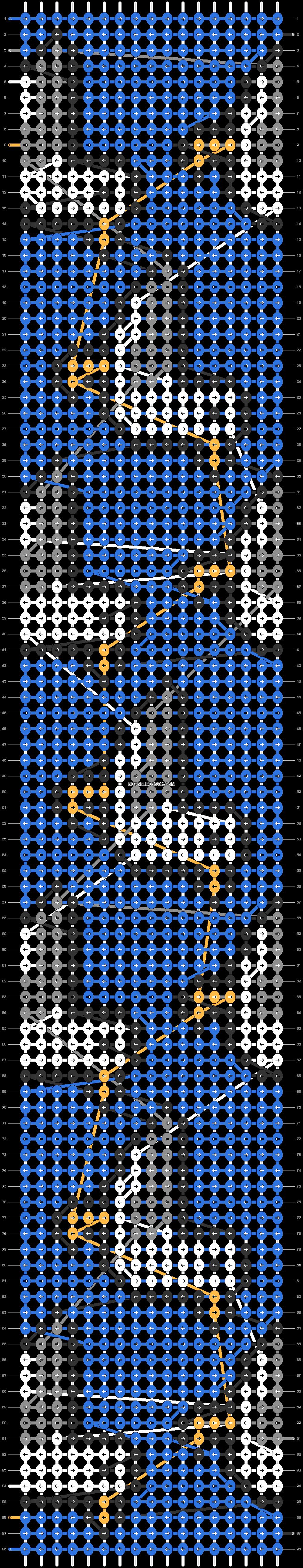 Alpha pattern #85448 pattern