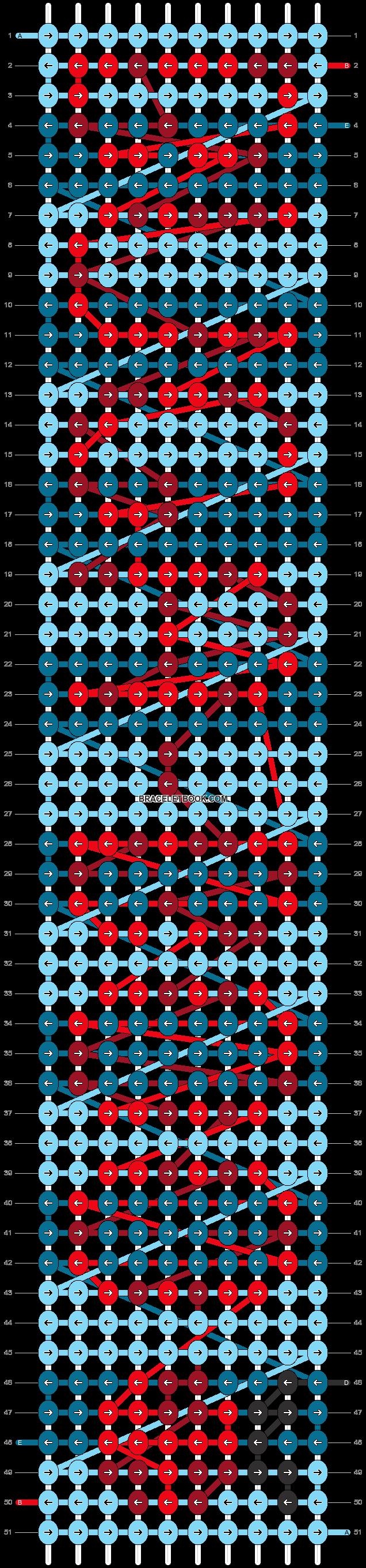 Alpha pattern #85456 pattern