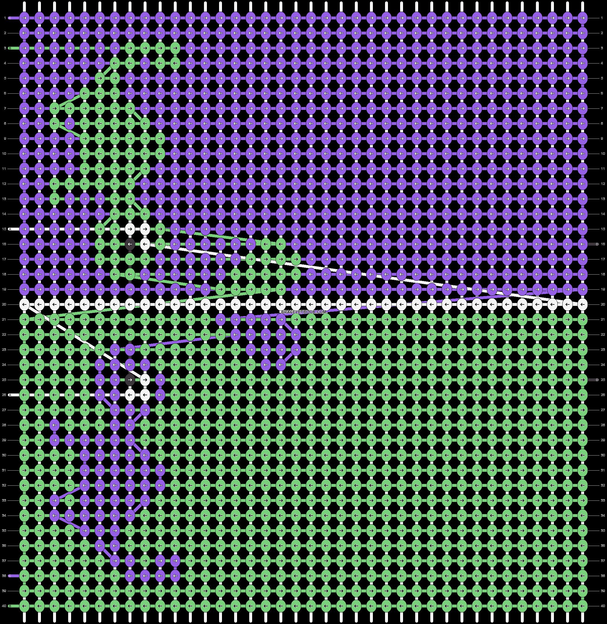 Alpha pattern #85483 pattern