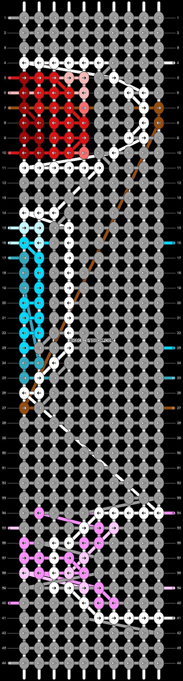 Alpha pattern #85510 pattern