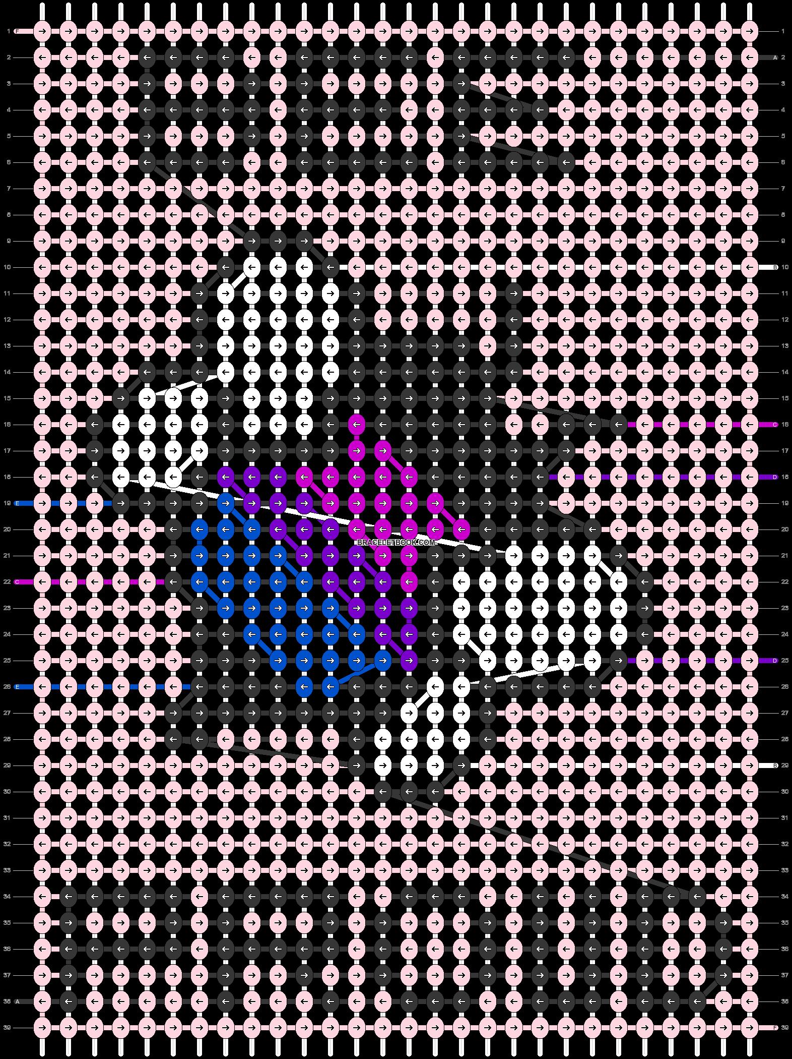 Alpha pattern #85513 pattern