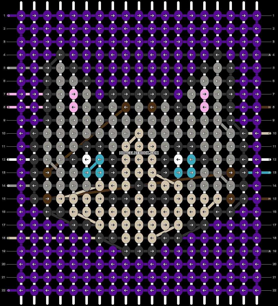 Alpha pattern #85522 pattern