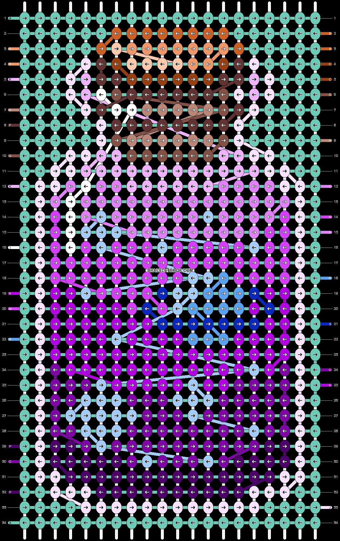 Alpha pattern #85586 pattern