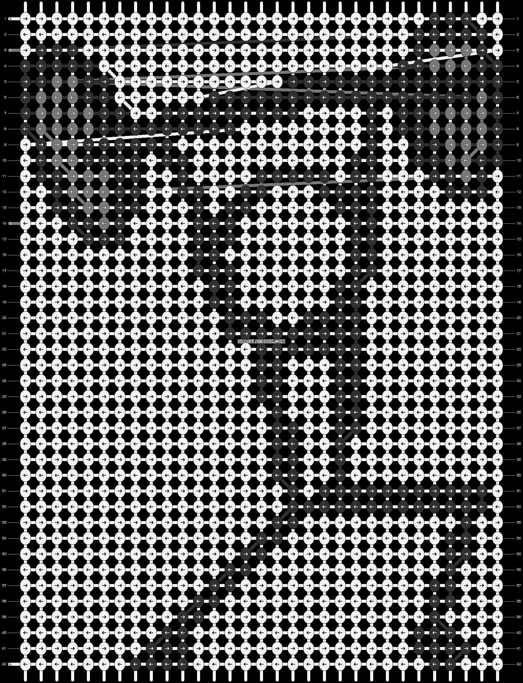 Alpha pattern #85602 pattern