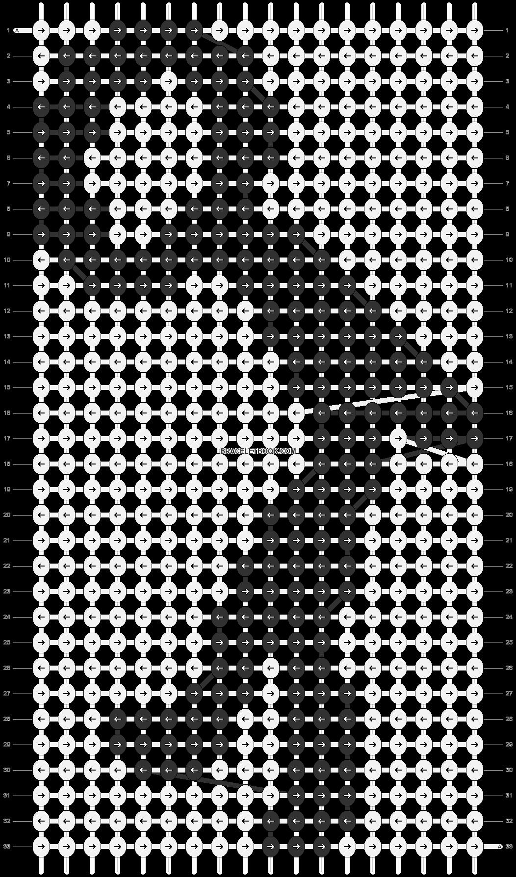 Alpha pattern #85603 pattern