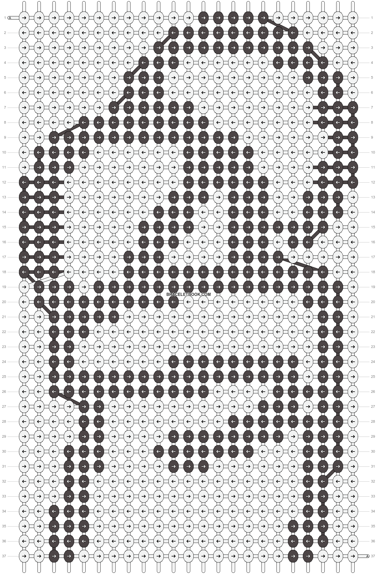 Alpha pattern #85608 pattern