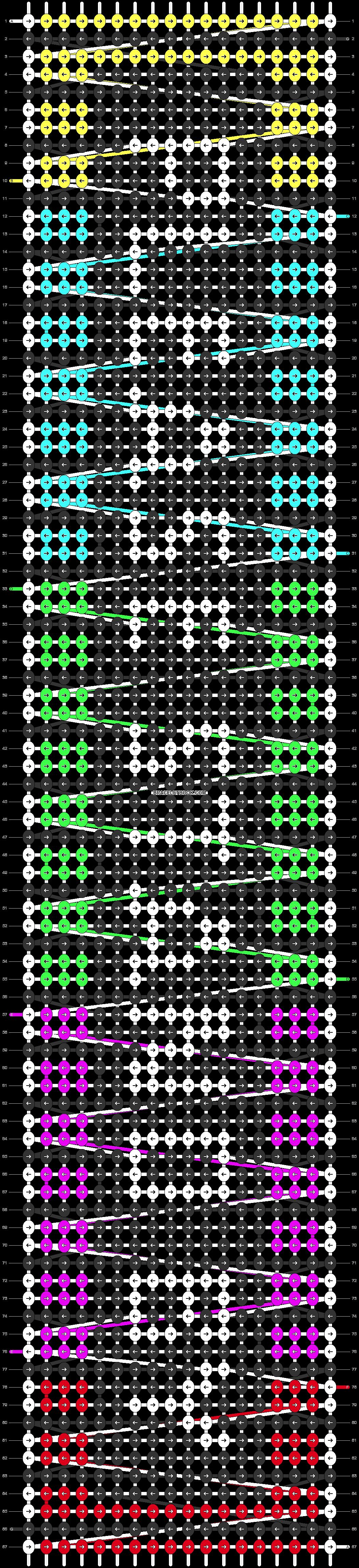 Alpha pattern #85609 pattern