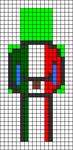 Alpha pattern #85628