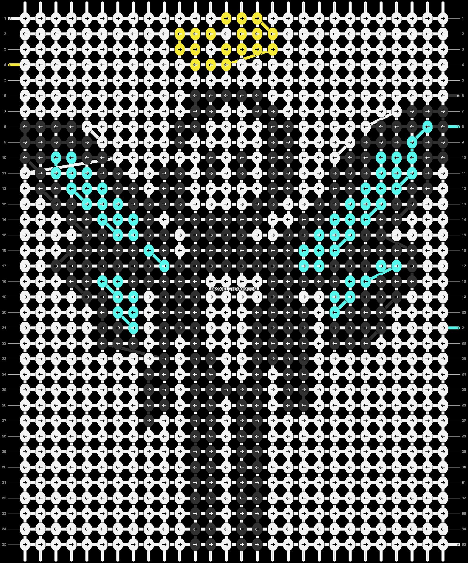 Alpha pattern #85629 pattern