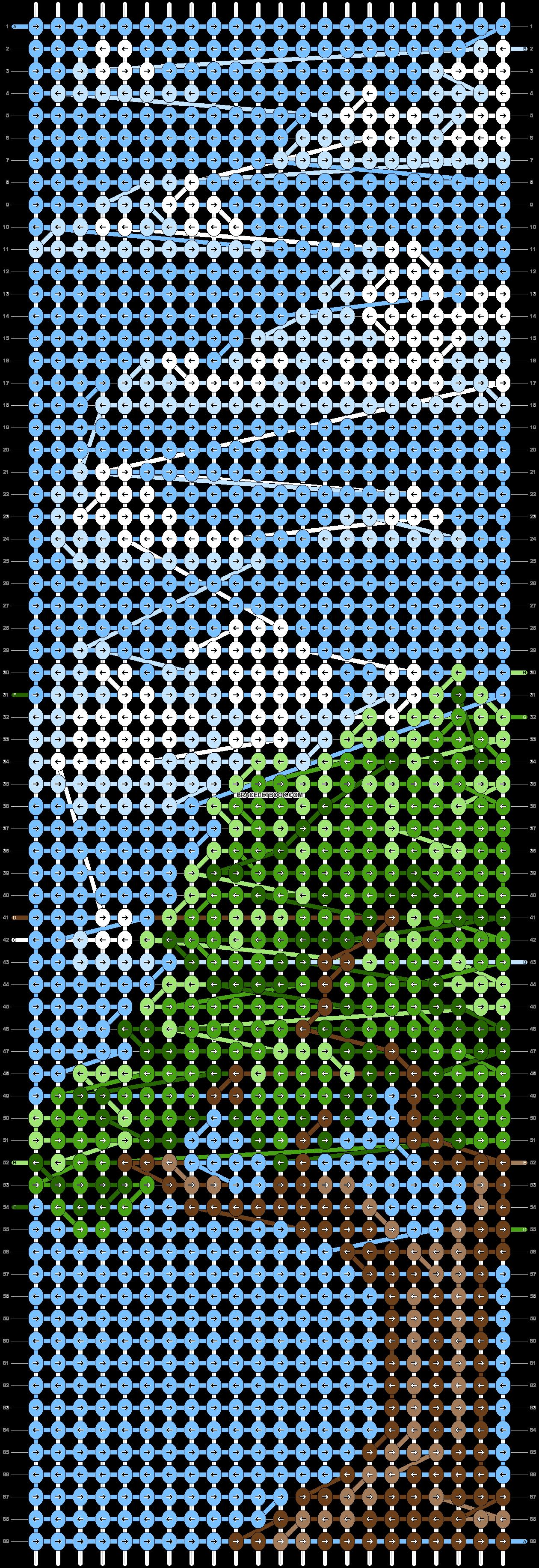 Alpha pattern #85645 pattern