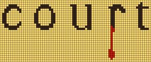 Alpha pattern #85647