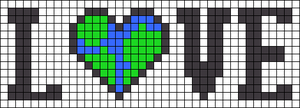 Alpha pattern #85678