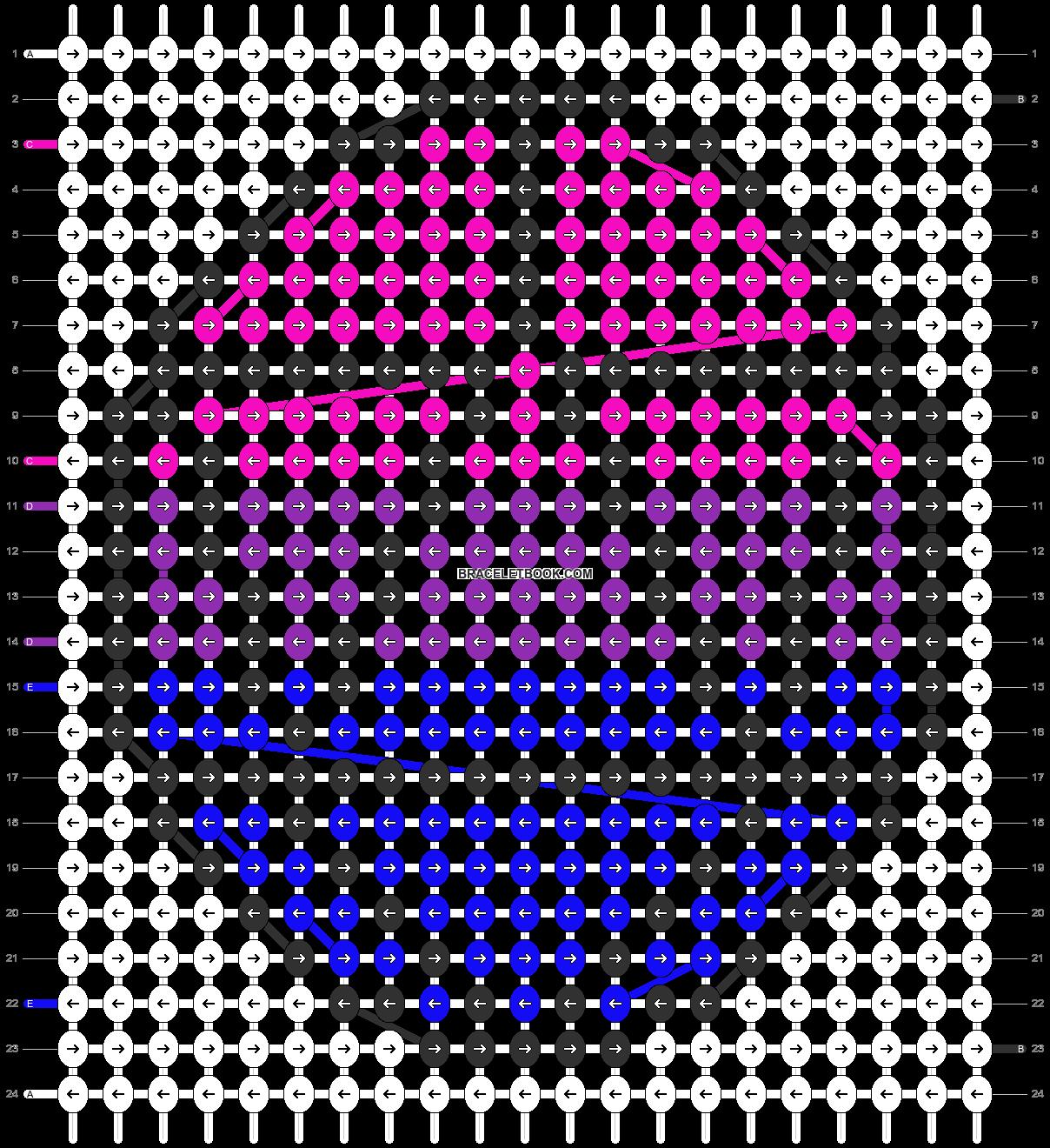 Alpha pattern #85695 pattern