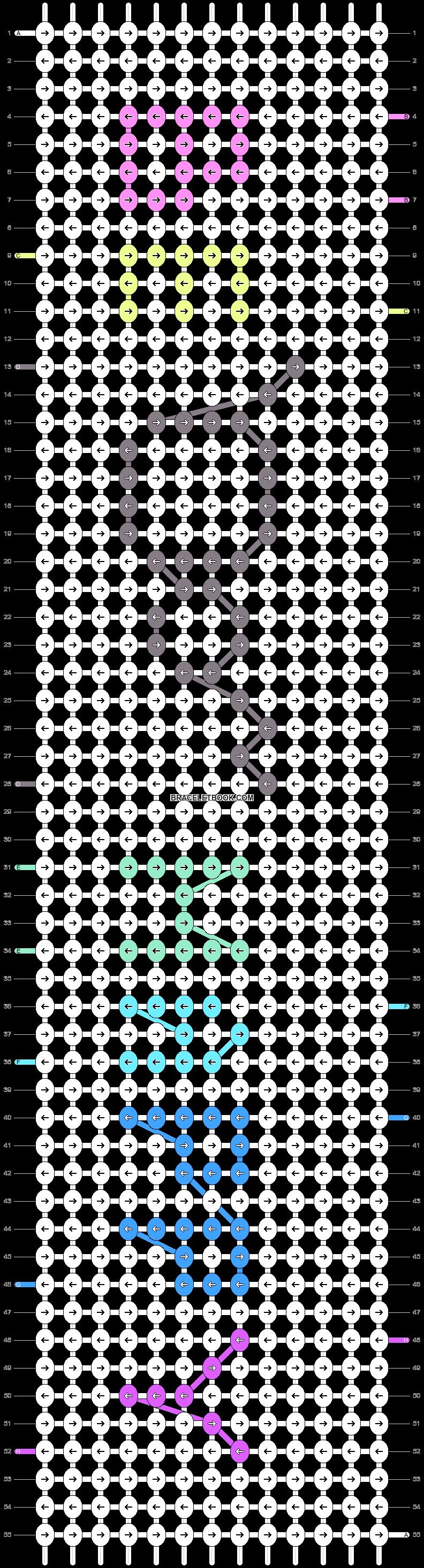 Alpha pattern #85701 pattern